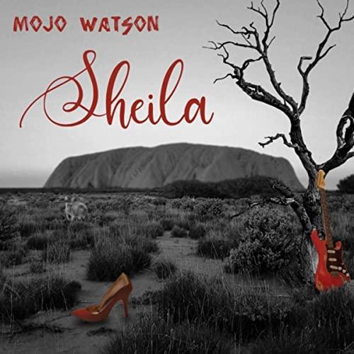 Sheila Album cover by Mojo Watson.